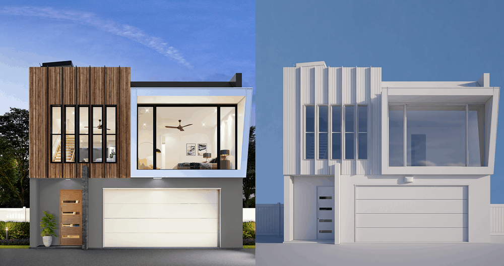 3D Rendering process for Perth
