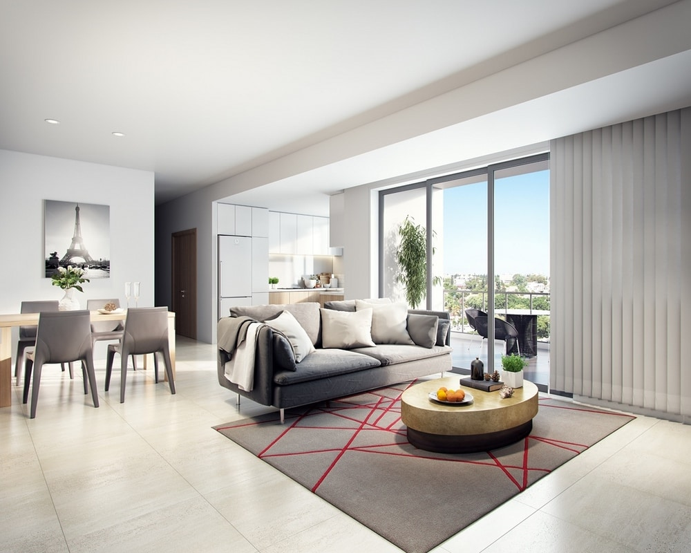 Interior 3d Render in Perth