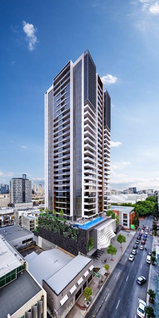Skyscraper 3d architectural visualisation